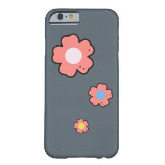 花のデザインの電話箱 BARELY THERE iPhone 6 ケース