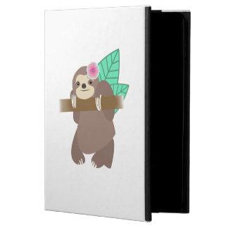 花のデジタル絵を含む怠惰 POWIS iPad AIR 2 ケース