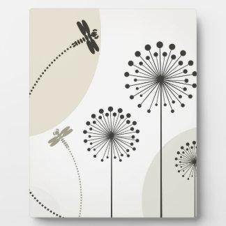 花のトンボ フォトプラーク