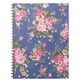 花のノート ノートブック