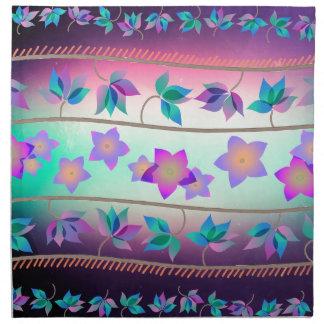 花のハワイの幸福 ナプキンクロス