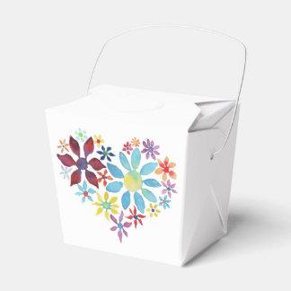 花のハート フェイバーボックス