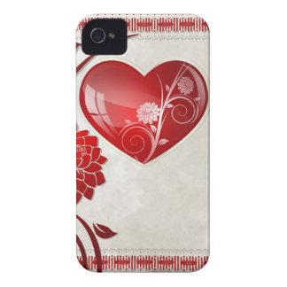 花のハート Case-Mate iPhone 4 ケース