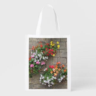 花のバスケット エコバッグ