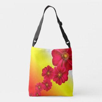 花のバッグ クロスボディバッグ