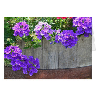 花のバレル カード