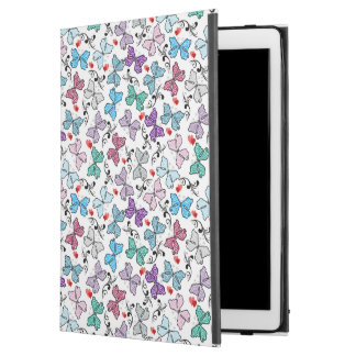 """花のバレンタインパターン iPad PRO 12.9"""" ケース"""