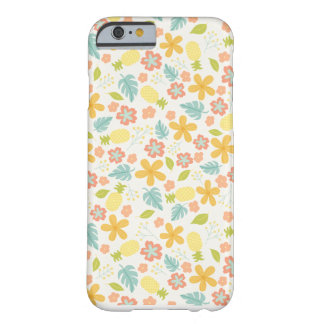 花のパイナップル電話箱 BARELY THERE iPhone 6 ケース