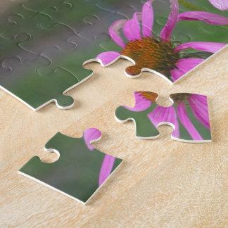 花のパズルの8x10蝶 ジグソーパズル