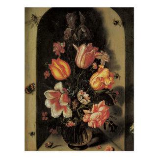花のファインアートの郵便はがき ポストカード