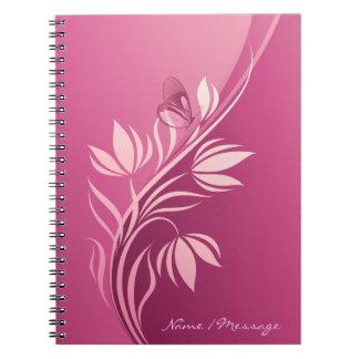 花のファッション2のノート ノートブック