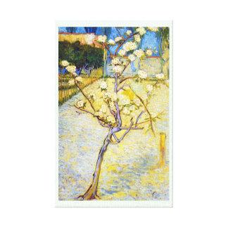 花のフィンセント・ファン・ゴッホの芸術のナシ木 キャンバスプリント