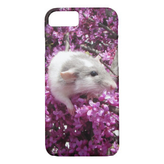 花のペットラットRahab iPhone 7ケース