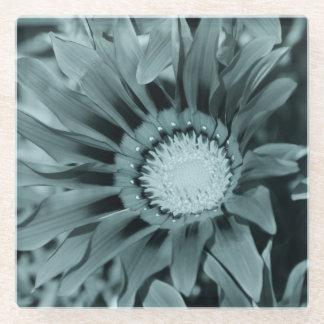 花のポートレート ガラスコースター