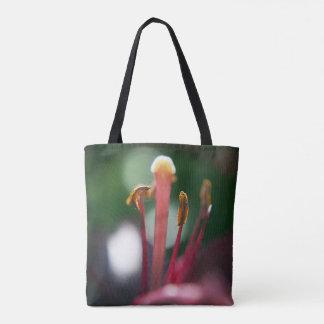 花のマクロ自然の写真撮影のトートバック トートバッグ