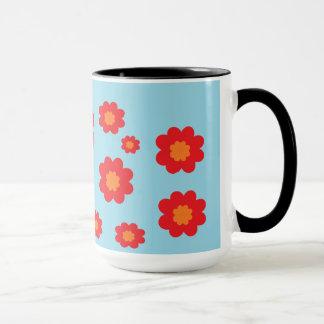 花のマグ マグカップ