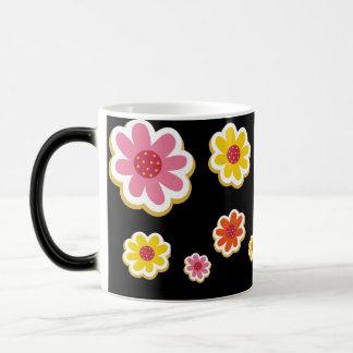 花のマグ モーフィングマグカップ