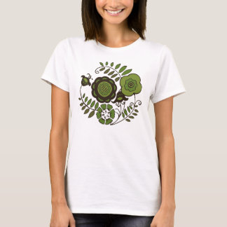花のミント Tシャツ