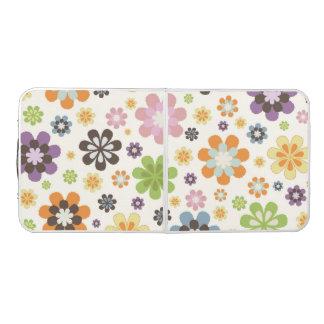 花のモダンなパターンデザイン ビアポンテーブル