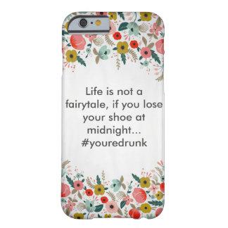 花のユーモアの電話箱 BARELY THERE iPhone 6 ケース