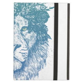 花のライオン iPad AIRケース