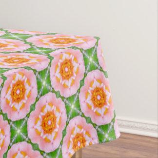 花のレトロパターン テーブルクロス