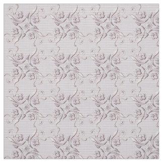花のレトロパターン ファブリック