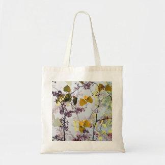 花のレース トートバッグ