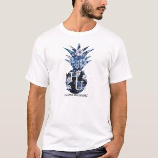 花のロゴの人のティー Tシャツ