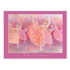 花のワルツ ポストカード ポストカード