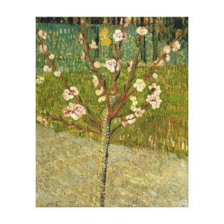 花のヴィンテージのフィンセント・ファン・ゴッホのアーモンド木 キャンバスプリント