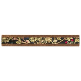 花のヴィンテージの芸術ウィリアム・モリスの生命の樹 定規