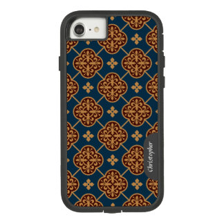 花の中世タイルパターンCC0910 Augustus Pugin Case-Mate Tough Extreme iPhone 8/7ケース