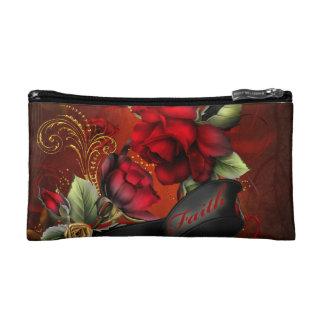花の信頼 コスメティックバッグ