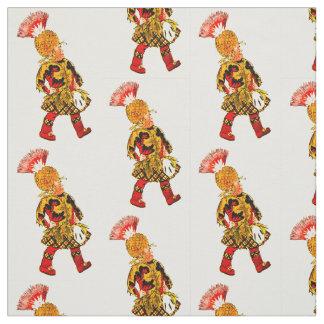 花の児童のアザミの花の妖精パターン ファブリック