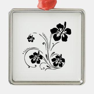 花の入れ墨 メタルオーナメント