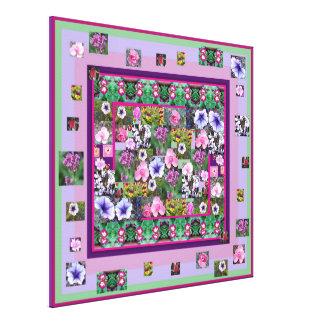 花の写真のインスピレーション キャンバスプリント