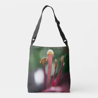 花の写真のワスレグサの十字の遺体袋 クロスボディバッグ