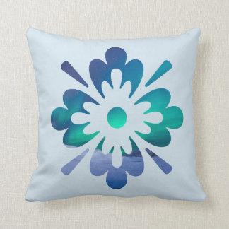 花の冬のオーロラのNorthern Lightsのデザインの枕 クッション