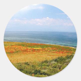 花の分野 ラウンドシール