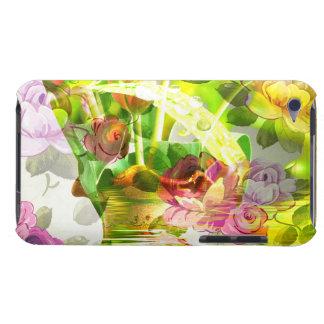 花の別の美しい場面-混合された芸術! Case-Mate iPod TOUCH ケース