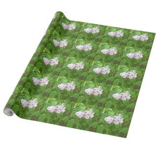 花の包装紙 ラッピングペーパー