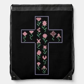 花の十字 ナップサック