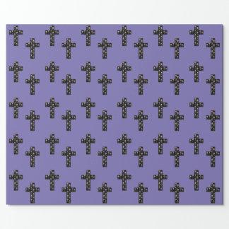 花の十字 包み紙