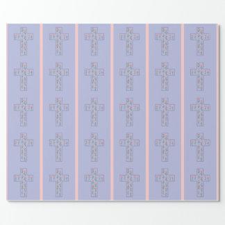 花の十字 包装紙