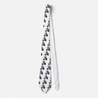 花の反射 ネクタイ