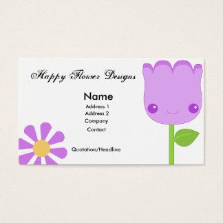 花の名刺 名刺