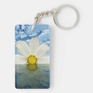 花の地平線Keychain キーホルダー