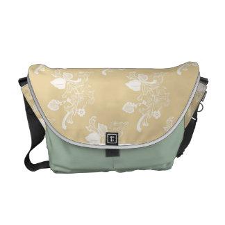 花の執権期間のスタイルのメッセンジャーバッグ メッセンジャーバッグ