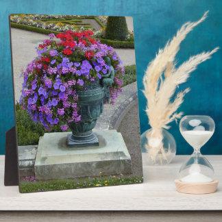 花の壷 フォトプラーク